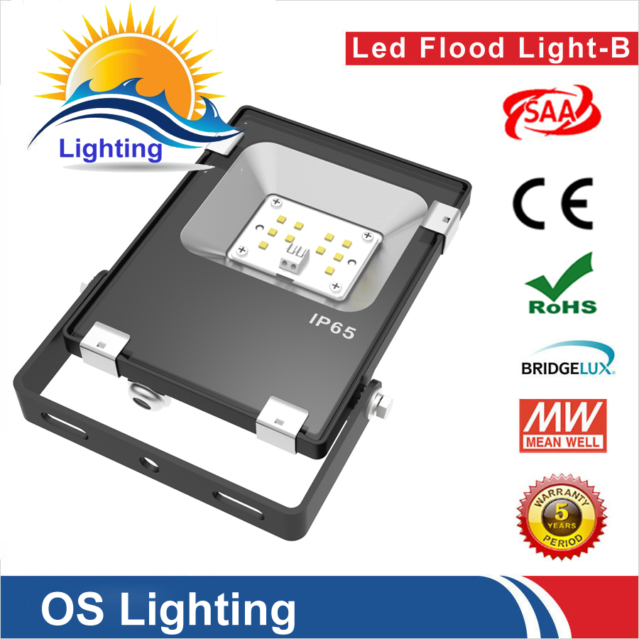 36pcs/lot 10w led floodlight Led Spotlight Outdoor waterproof ip65 outdoor lamp UL DLC Listed