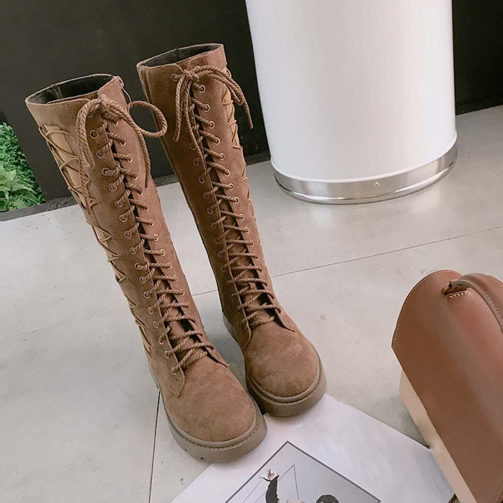 30c143f3610f8 La Botas De Moda Para Invierno Chelsea Mujer brown A 20181106 Black Zapatos  Casuales Gamuza Mujer ...