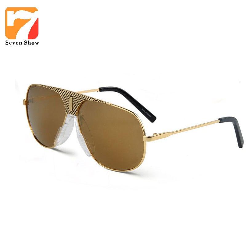 6d425589787 Metal Steampunk Sunglasses Women Men Brand Designer Vintage Coating Shades  Mirror Oversized Eyewear Oculos De Sol Masculino
