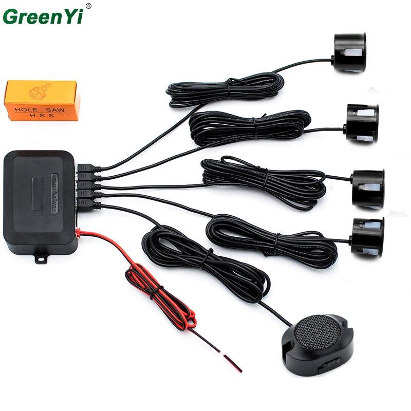 GreenYi P200 оптовая продажа 10 шт./партия автомобиля Парковочные системы Сенсор автоматического резервного копирования Радар Системы с 4 Сенсор хорошее качество