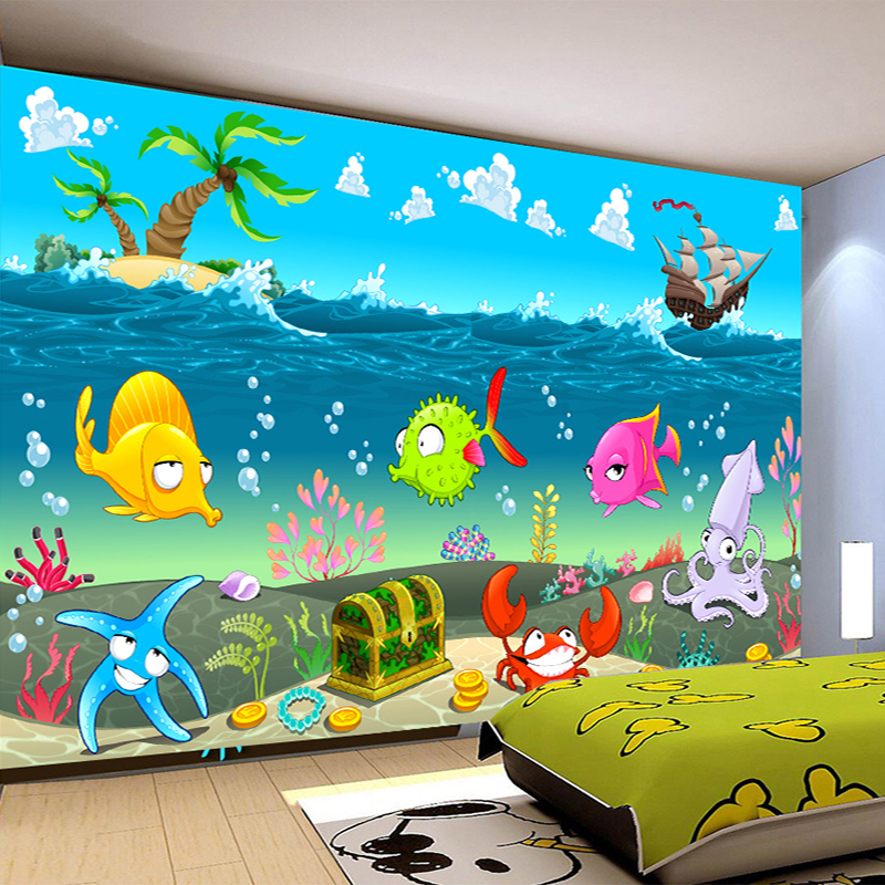 popular wall murals fish buy cheap wall murals fish lots wall murals fish tank pixersize com