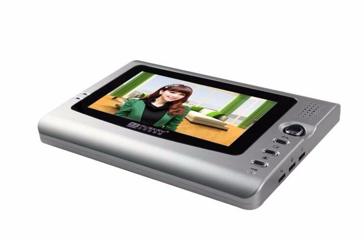 International quality 7Video door phone / intercom system,HD night vision camera for 5-apartments