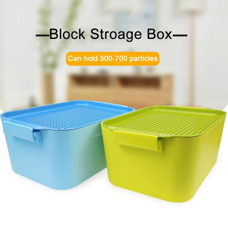 Block Storage Box Building Blocks DIY Brinquedos Boys Girls Bloques Juguetes 1000Pcs Blocks Set Compatible Legoed City Blocks