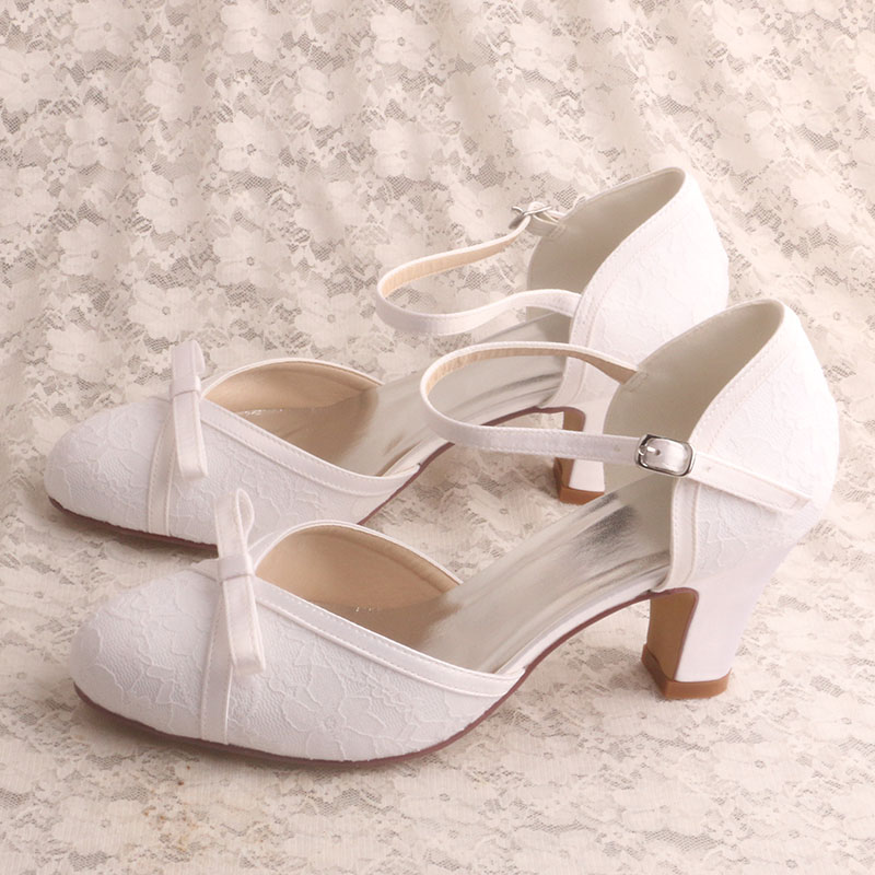 New Design Mary Janes Wedding Shoes
