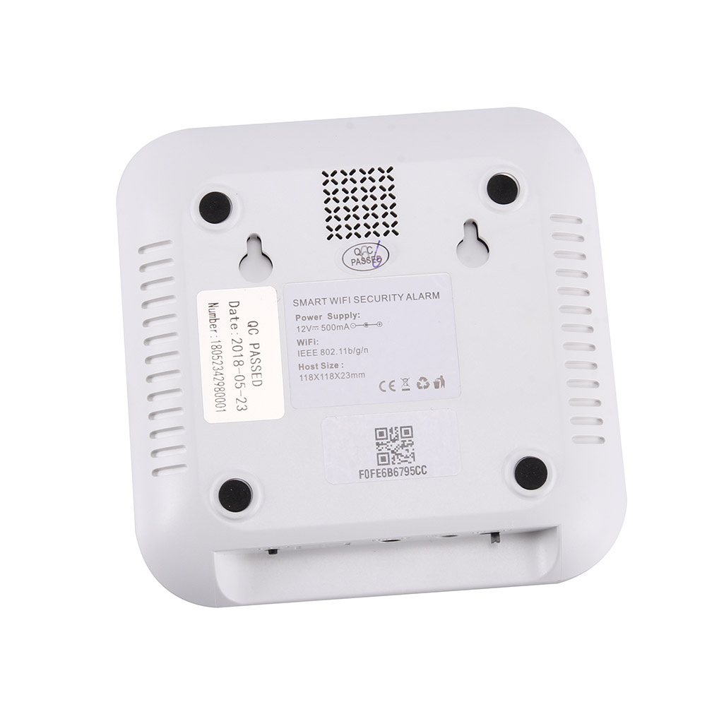 Wi-Fi GSM SMS Call House Security Alarm System WIFI Push Message Alarm Smartphone APP Control JLRJ88 image