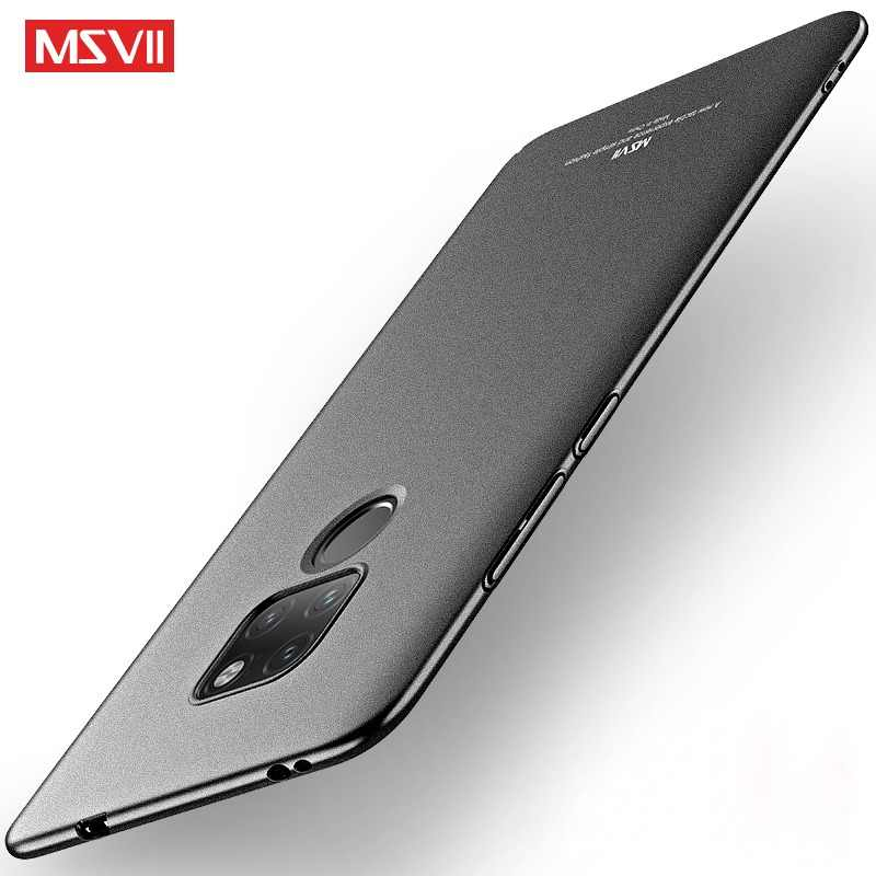 MSVII Matte Case for Huawei Mate 20 Case Ultra-thin Hard Back Cover for Huawei Mate 20 Pro Funda for Huawei Mate 20X Coque Cases