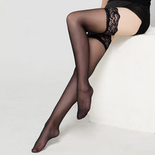 IOLPR 1Pair=2pcs High Quality Stockings Women Sexy Lace Floral Tighs Top Stay Up Thigh Pantyhose Plus Size