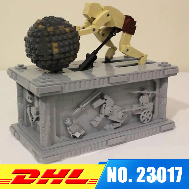 Lepin 23017 1462Pcs Genuine Technic Series The MOC Sisyphus Moving Set Educational Building Blocks Bricks Toys Model Gifts 1518 new lepin 23017 1462pcs movie series moc le mythe de sisyphe building blocks bricks to holiday toys gift