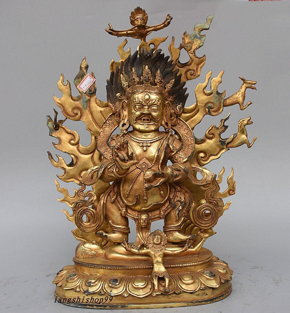 Guan Yun Chang Statue Wedding 15 Tibet Buddhism Temple
