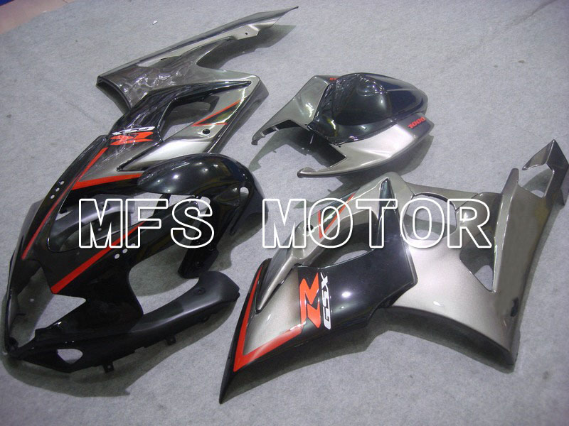 For Suzuki GSXR 1000 K5 2005 2006 Injection ABS Fairing Kits GSXR1000 K5 05 06 - Others - Silver-gray/Black injection molding custom for 2005 suzuki gsxr 1000 fairings k5 2006 gsxr 1000 fairing 05 06 glossy black flat gray dw16
