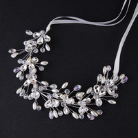 Hot Sale Tiara Wedding Hair Comb Vintage Style Bridal Hair Accessories Crystal Bouquet Collection Top Quality