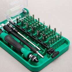 Набор Магнитных отверток 45 в 1, новые инструменты для прецизионного отвертки 9002