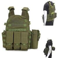 Live CS Game Combat Protection Vest 6094 Tactical Vest Military Airsoft Paintball Body Armor Vest Hunting Equipment Combat Vest