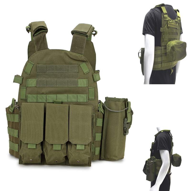 Camping & Hiking Climbing Bags Live Cs Field Guard Vest Army Tactical Vest And Pack Wear Resistant Anti-piercing Equipment A4306