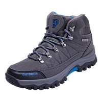 High Quanlity Men's Autumn And Winter high top Hiking Shoes Non slip Lace up Snow Boots tactical Boots hunting shoes VS rax