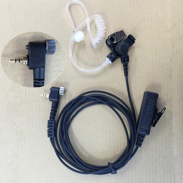 Lange Grote PTT Luchtslang headphoenfor Motorola MTH800 MTH850 MTP850 MTS850 MTH600 MTH650 etc walkie talkie