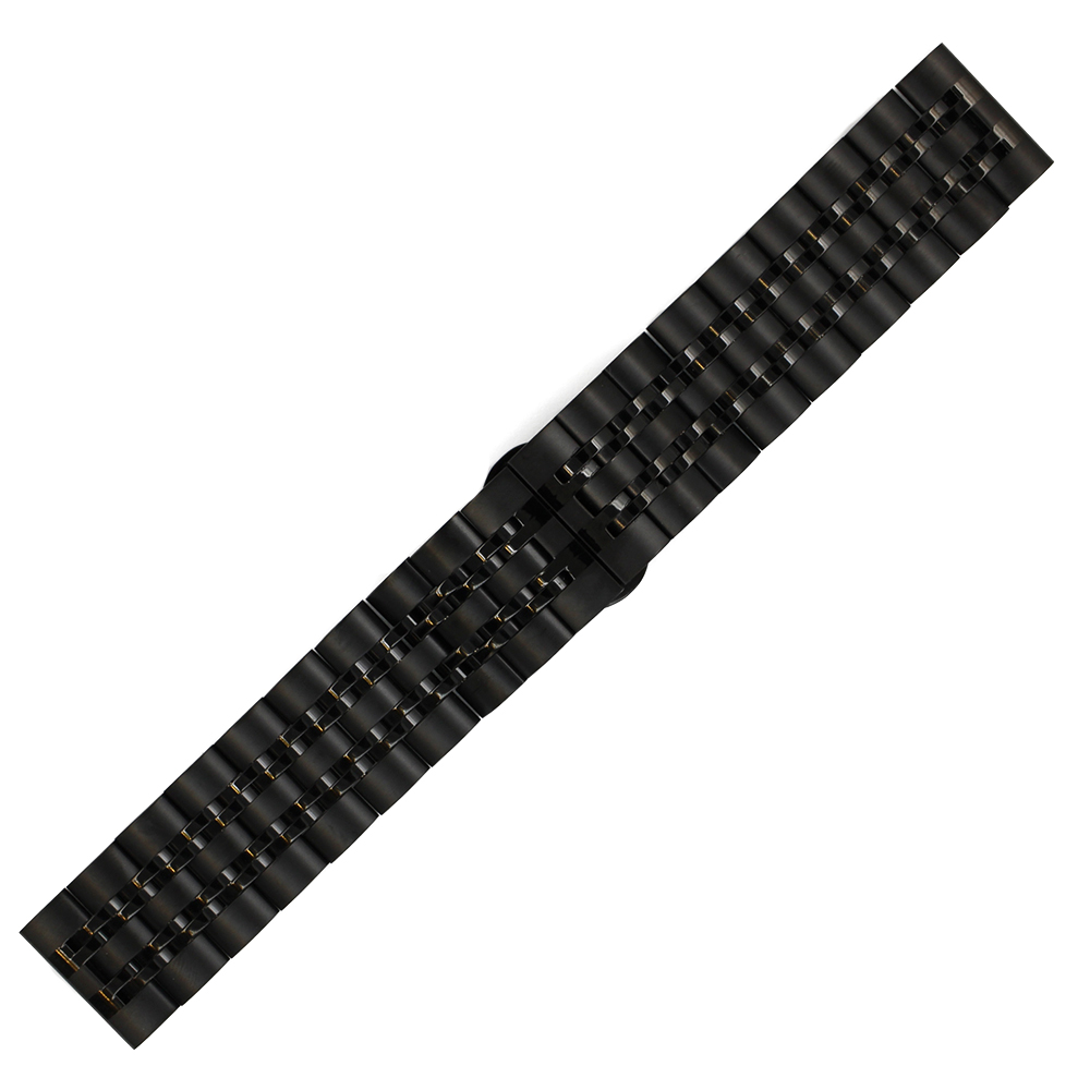 Stainless Watch Band 20mm 22mm for Amazfit Huami Xiaomi Smart Watchband Butterfly Buckle Strap Quick Release Loop Belt Bracelet