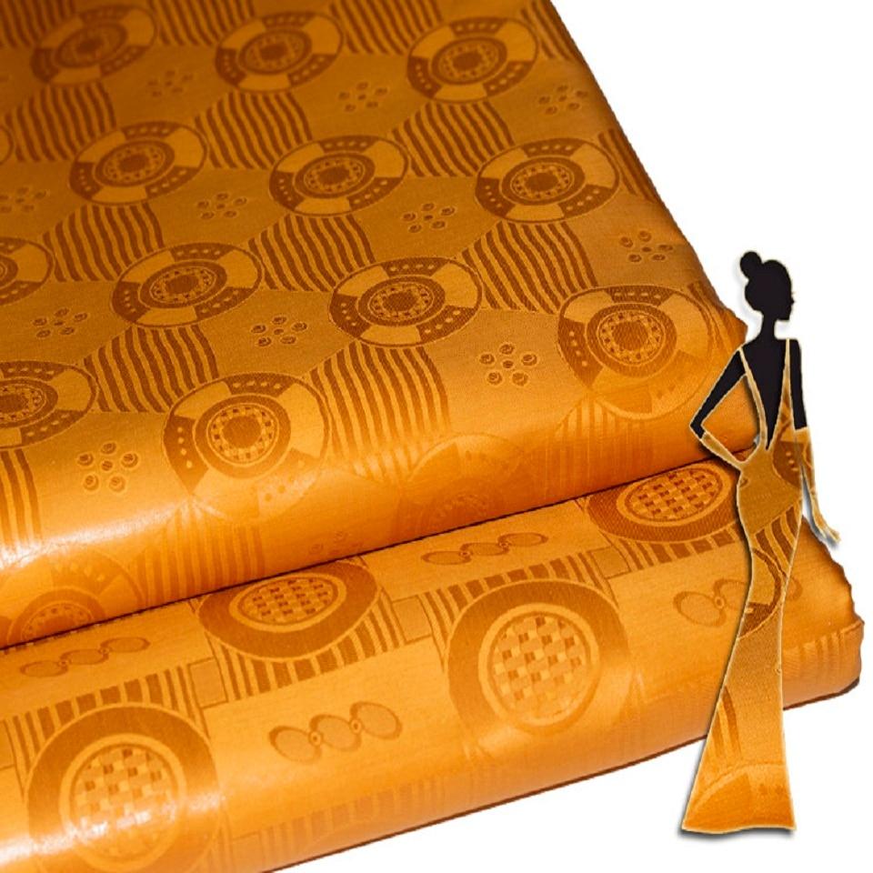 Bazin Riche Similar Getzner Quality 2019 Nouveau Cotton Fabric Tissu Jacquard Brocade By African Latest Designer