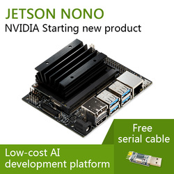 NVIDIA Jetson Nano Developer Kit  compatible with NVIDIA's  AI platform for training and deploying AI software