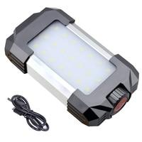 15W USB Rechargeable LED Lampe Camping Lantern 6000mAh Power Bank Tent Light Portable Led Lanterns Waterproof Emergency Light