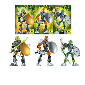 NEW Bionicle Hero Factory 5 Star Rocka Bulk Breez Robot Building Block Brick Figures Toys for children Compatible with Bionicle image