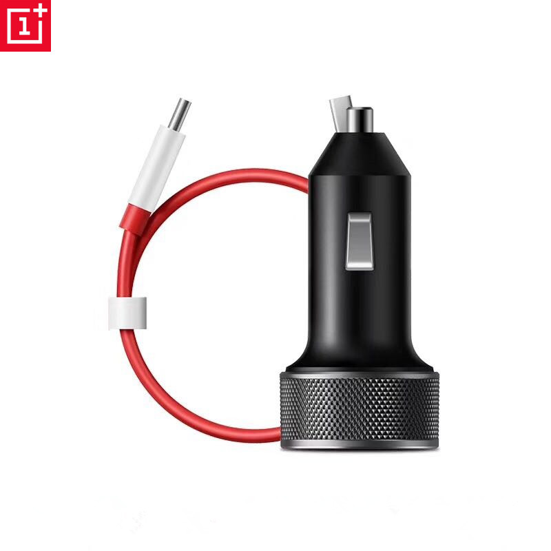 Original Car charger adapter for Oneplus 3T 5T 6 three five six DC01B DASH + 100cm 1+ DASH USB Type C fast quick charging Cable