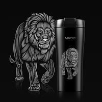 Mug Office Thermos Metal Thermo Bottle Thermal Vacuum Flask Insulated 18/8 Stainless Steel Keep Hot Cold Cup Coffee Mugs