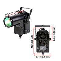 2 teile/los Professionnal 10 Watt RGBW LED Pinspot DMX512 Schmale-Strahl Pinspot Bühnenbeleuchtung dj bühne pin spot-licht ktv bar party lampe