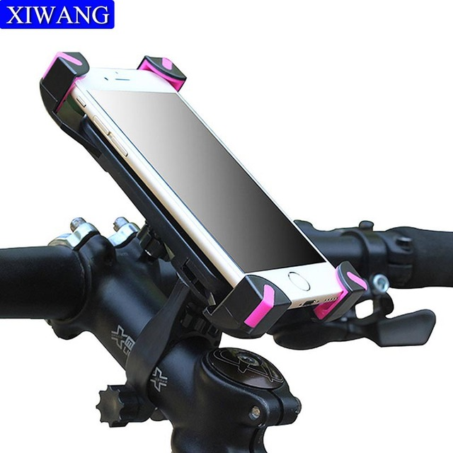 Motorcyle Bicycle MTB Bike Mobile Phone Holder Stand Handlebar Clip smartphone support telephone moto For iPhone X 8 Samsung S9
