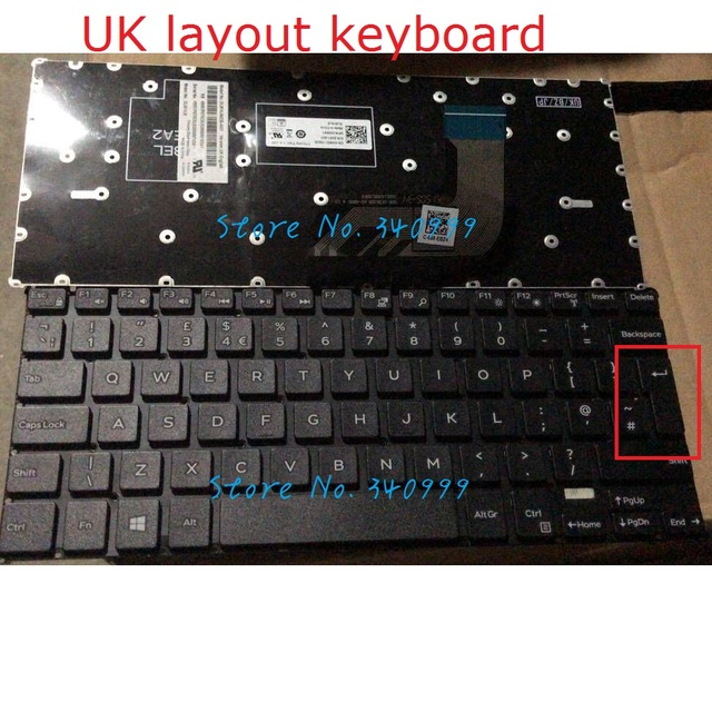 US $14 8 |new for Dell Inspiron 11 3162 3164 3168 3169 UK Keyboard-in  Replacement Keyboards from Computer & Office on Aliexpress com | Alibaba  Group