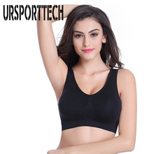 Hot Brand Women Shockproof Bra Active Seamless Nylon Wire Free Double Layer No Pressure Large Size S-4XL Shipping