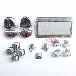 Image 5 - 13 pçs bullet button thumbstick boné metal chapeamento de ouro para ps4 dualshock 4 pro controlador