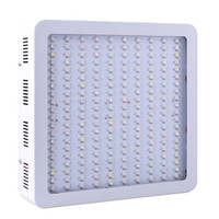 Qkwin double chip LED Grow Light 200x10w double chip 420W True Power Full Spectrum for Hydroponic Planting shipping