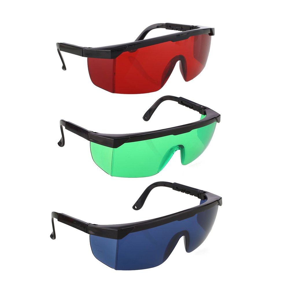 Workplace Safety Supplies Laser Protection Goggles Red Blue Green Dark Green Visible Light All-round Absorption For Beauty Equipment Laser Hair Removal Safety Goggles