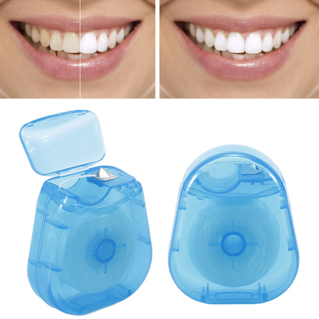 Portable Oral Care Dental Floss 2 pcs Set