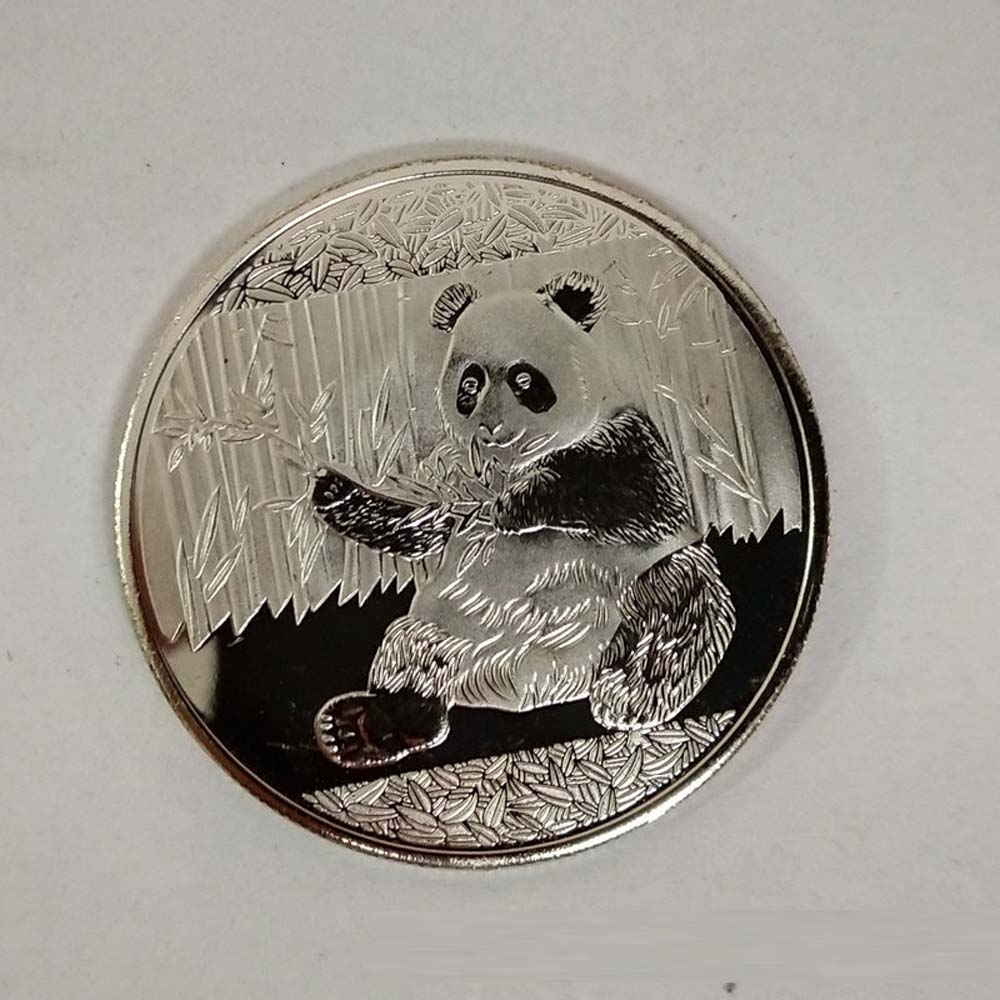 1PC Gold-plated Bbig Panda Baby Commemorative Coins Collection Art Gift B$