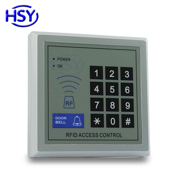 RFID Keypad Standalone Access Control Single Door Controller System 125Khz EM Card Keyboard Entry Lock with 10pcs free Keytag image