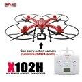 Mais novo MJX X102h Zangão Profissional HD 1080 P 12MP FPV Drones Quadcopter RC Helicopterwith 4 K 1080 P Câmera Wi-fi HD RC Helicópteros
