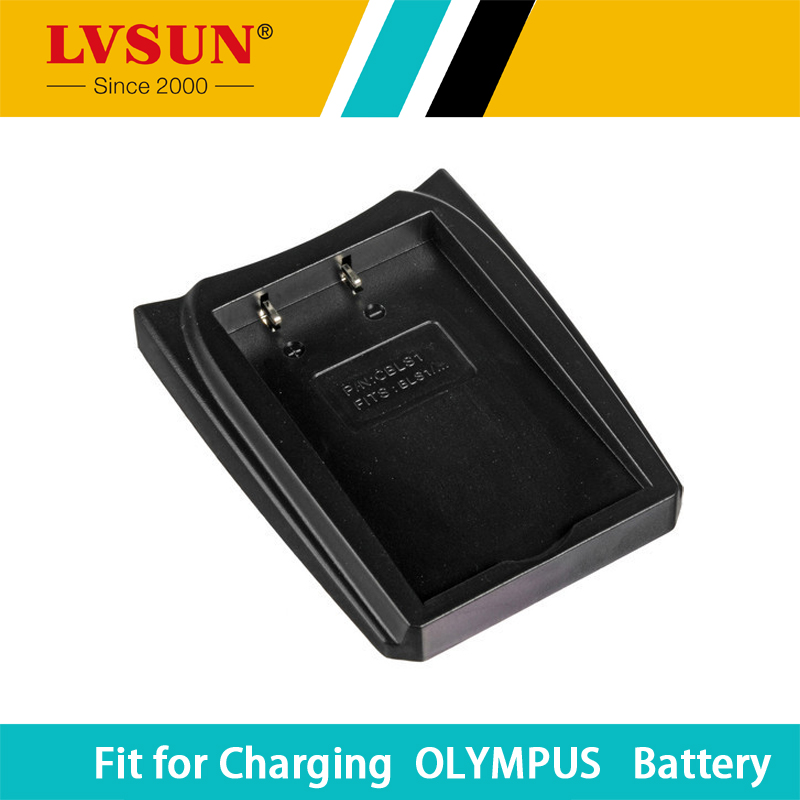 LVSUN BLS-5 BLS-1 chargeable Battery Adapter Case Plate For OLYMPUS E450 E600 E620 EP1 EP2 EP3 EPL1 EPL2 EPL3 Batteries Charger