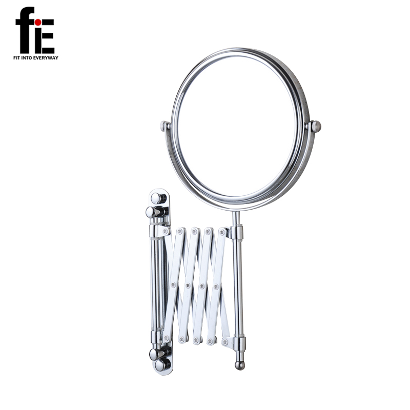 fiE 8 Inches Wall Mounted Makeup Bathroom Mirror Professional Vanity Double Side Bathroom Mirror Adjustable Rotating Magnifier