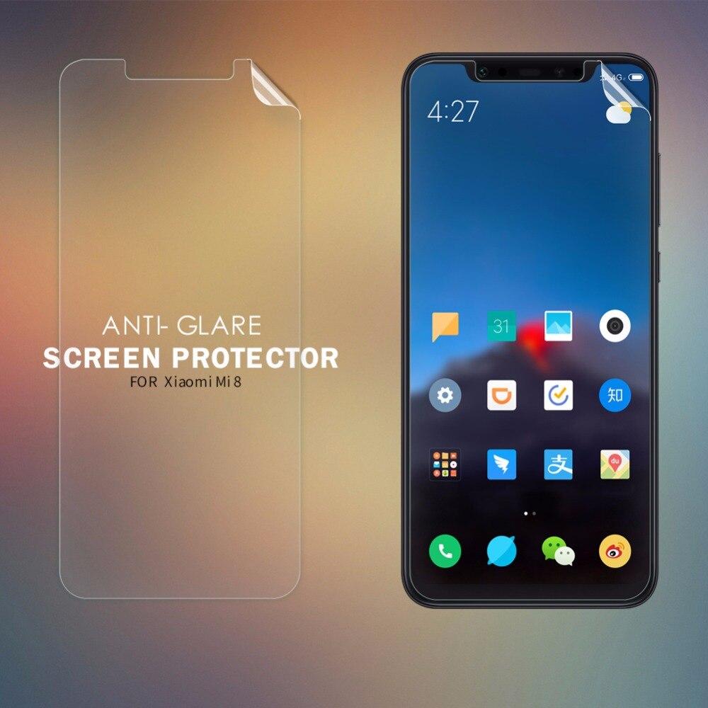 2 pcs/lot NILLKIN screen protector for xiaomi mi8 mi 8 SE S Anti-Glare Matte protective film for xiaomi mi8