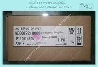 MBDDT2210003 AC Servo Fahrer Servo Motor Pulse Typ Stick A4 Serie 400W Neue Original 1 Jahr Garantie