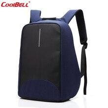 Nylon diebstahl rucksack multifunktions 15 zoll computer schultasche back pack laptop usb lade-rucksack für teenager 8001