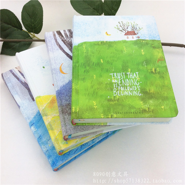 2017 A5 128 Sheets Paper Notebook Note Book Diary Agenda Journal Planner Note Pad School Office Stationery Supplies diary 2017 13 18 cm blank plain notepad notebook diary fleshiness plant printing note book agenda journal planner stationery
