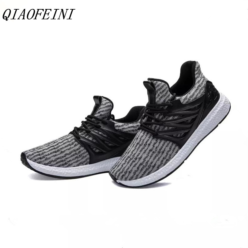 Chaussures hommes 2018 printemps/automne stretch chaussettes filets  chaussures en tissu hommes casual chaussures sneakers