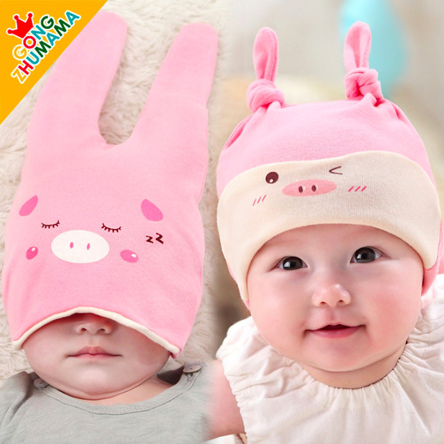 ba5e5043e176 summer style newborn baby hat cap beanie baby boy girl hats caps ...