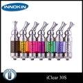 Original Innokin iClear 30 S Bottom Dual Coil Clearomizer Iclear30S reemplazable Cartomizer 3.0 ml giratorio pedazo de boca atomizador