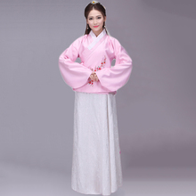 Hanfu Women Ancient Chinese Costume Tang Dynasty Costume Oriental Costumes Folk Dress Female Adult
