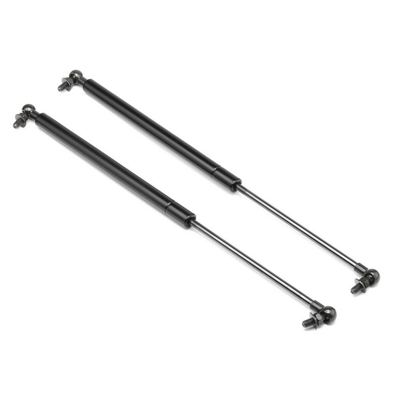 1 Pair Metal Hood Lift Supports 45 57cm Length Gas Shock Strut Damper Hood Lift Gas Strut For Toyota 4Runner 2003 2009 in Shock Absorber Struts from Automobiles Motorcycles
