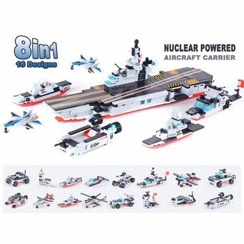 8 in 1 Nuclear Powered Aircraft Carrier